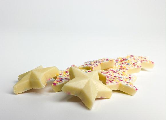 White Chocolate Jazzie Stars