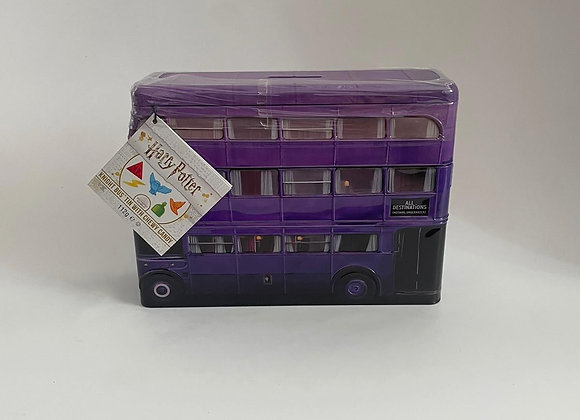 Harry Potter Knight Bus Money Box Tin with Sweets