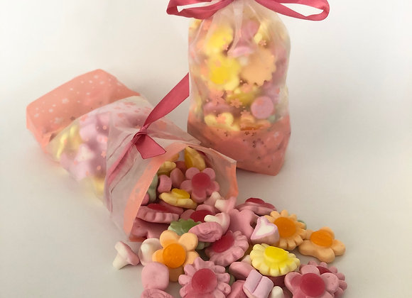 Mothers Day 1/2 kg Pic n Mix Flower Bag