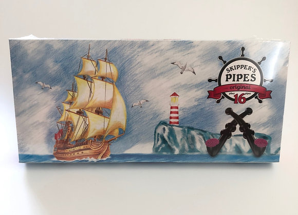 Skippers Liquorice Pipes Box of 16