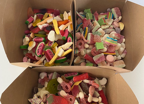 2 Boxes for £10 Pic n Mix, Fizzy or Mega Mix