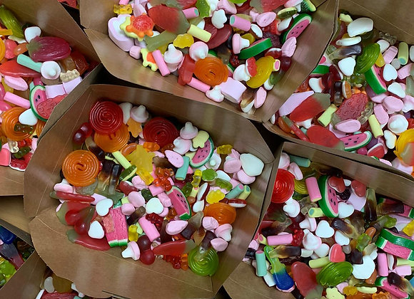 2 x Large Pic n Mix Boxes - Standard, Fizzy and Mega Mix