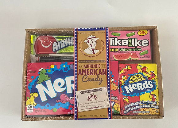 American Candy Sweet Box
