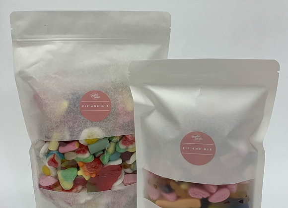 1 KG PIC N MIX WITH FREE 1/2 KG BAG