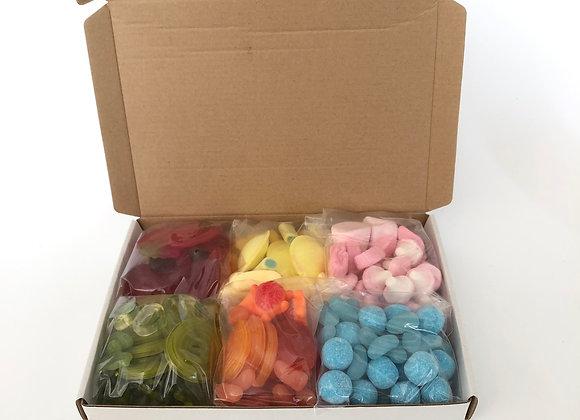 Rainbow Pic n Mix Sweet Box (500g)