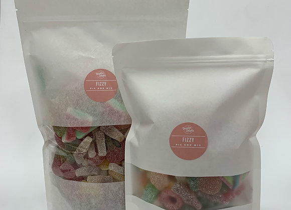 1 KG FIZZY PIC N MIX WITH FREE 1/2 KG BAG