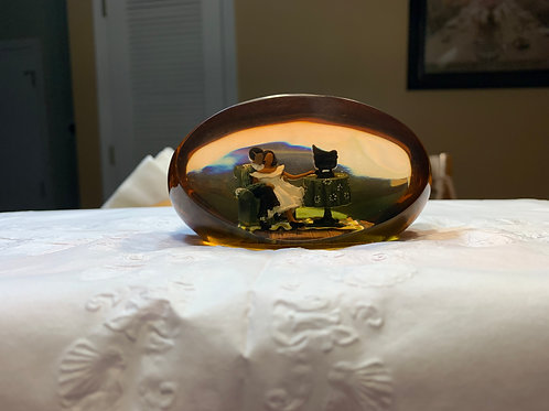 Love Song Paperweight by Annie Lee