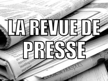 Revue de presse du 16/10/2019