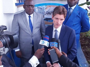Visit of Belgium's ambassador and delegates and stakeholders in the field of water and sanitatio