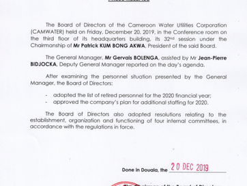 Press Release - 32nd Session #BoardMeeting