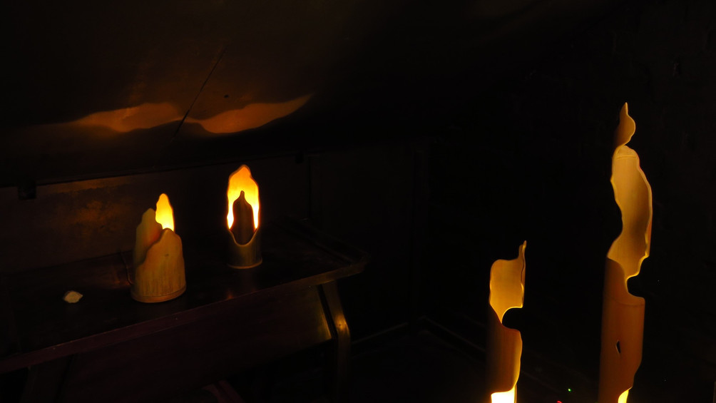 bamboo custom LED lamps