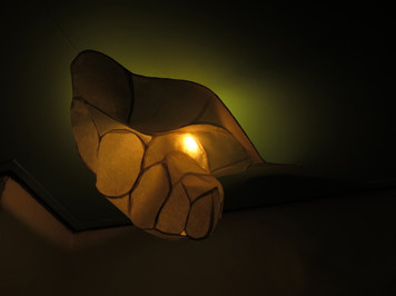 STALACTITE - rice paper lamp