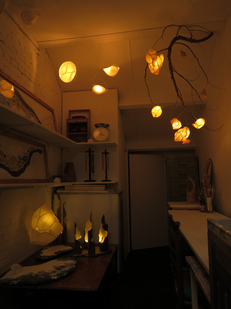rice paper led lamps
