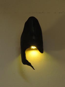 YIN - light sculpture - original bamboo led lamp