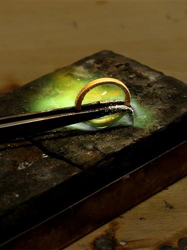 Löten des Rings