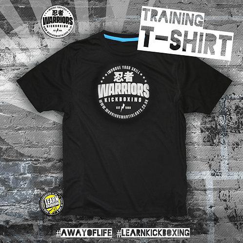 Kickboxing Training Non iron T-Shirt (Adult)