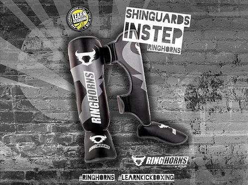 RINGHORNS SHINGUARDS INSTEPS - BLACK