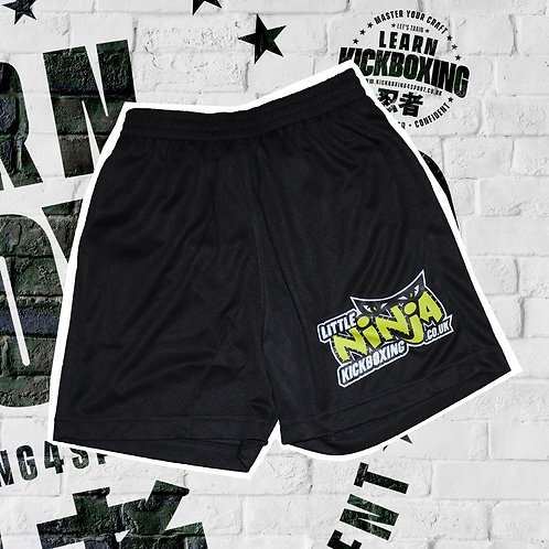 LITTLE NINJA KICKBOXING TRAINING SHORTS (JUNIOR)