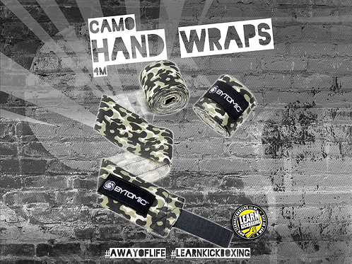 STRETCH HAND WRAPS 4FT CITY CAMO