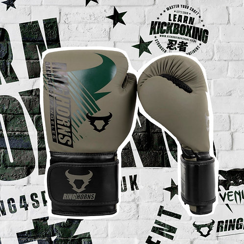 RINGHORNS CHARGER MX BOXING GLOVES - CAMO/BLACK