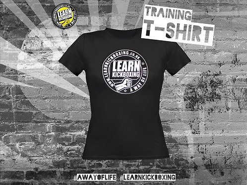 Ladies' Kickboxing Training T-Shirt (Adult)