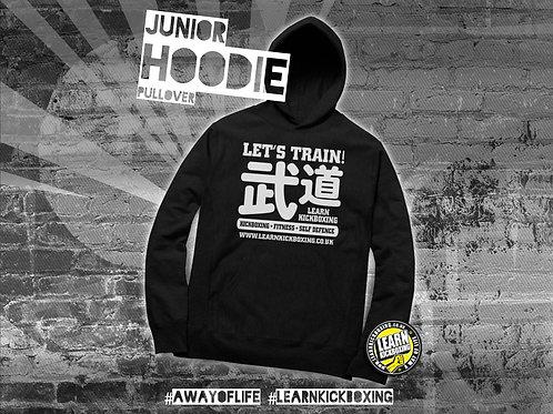 Learn Kickboxing Pullover Hoodie (Junior) Budo