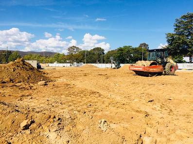 excavator canberra