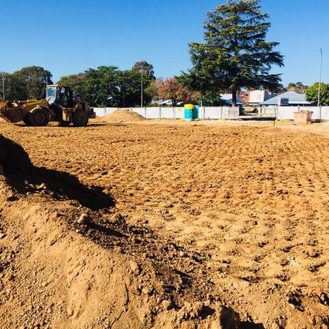 ACT excavation