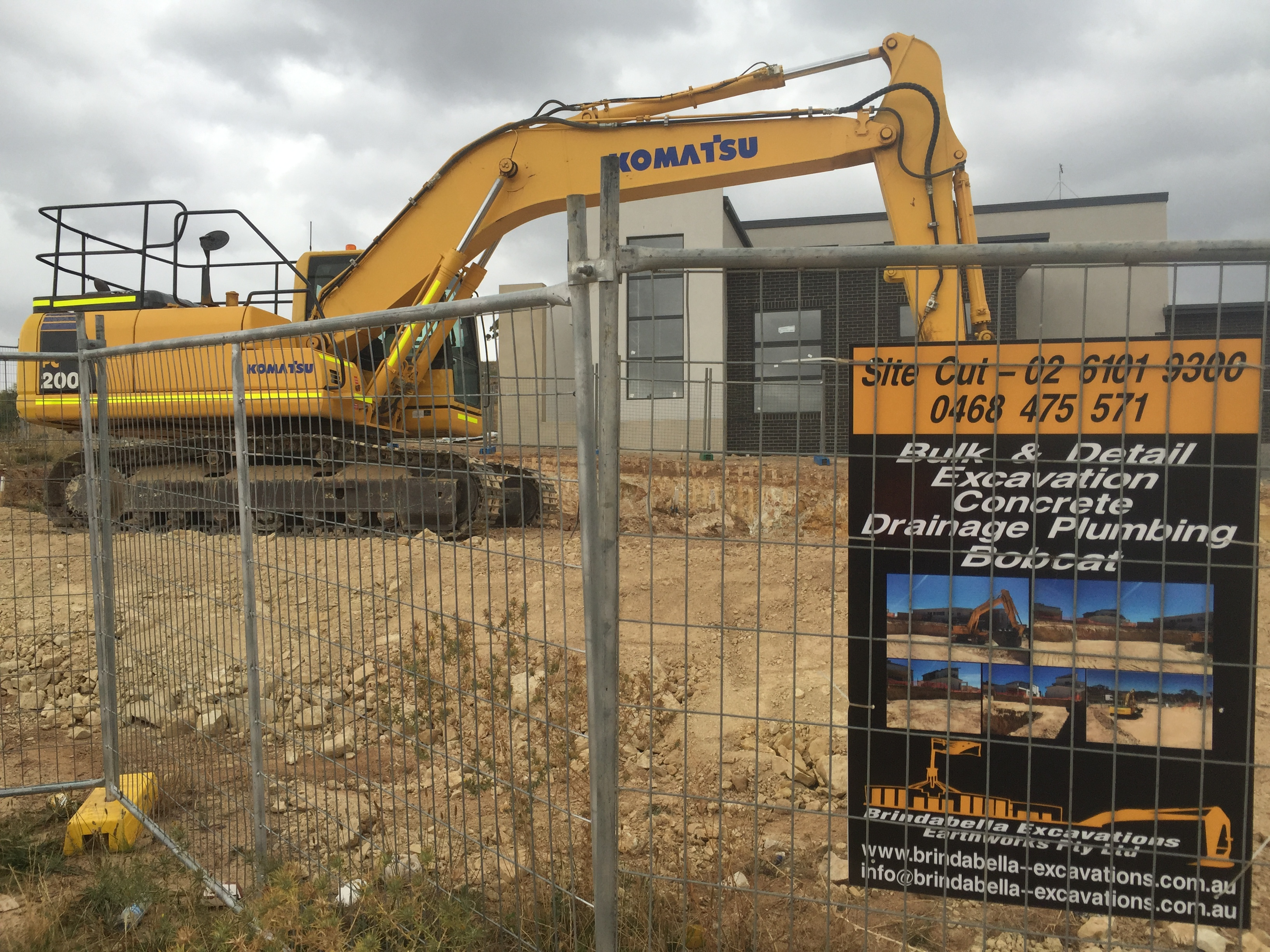 Canberra earthworks contractor