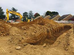 Canberra excavation