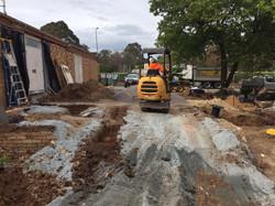 Canberra mini excavator hire