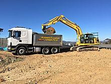 Bulk excavation, detail excavation, civil earthwork contractor, Canberra earthwork contractor