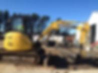 Excavator hire Canberra