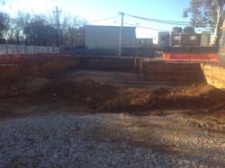 Basement parking excavations