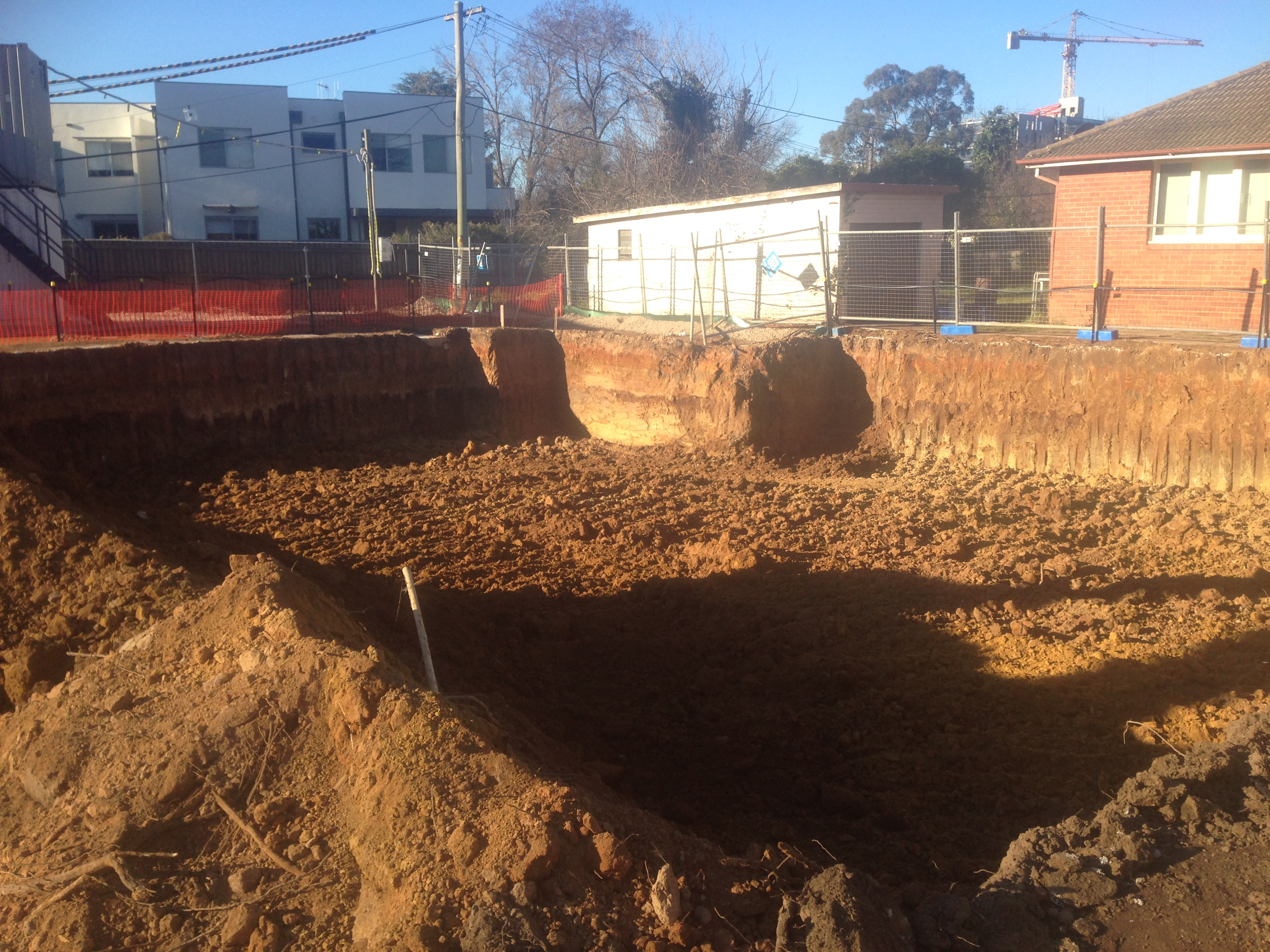 Bulk Excavations for basement