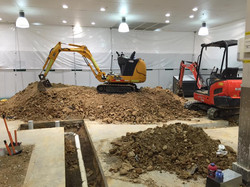 Canberra tight access excavator hire