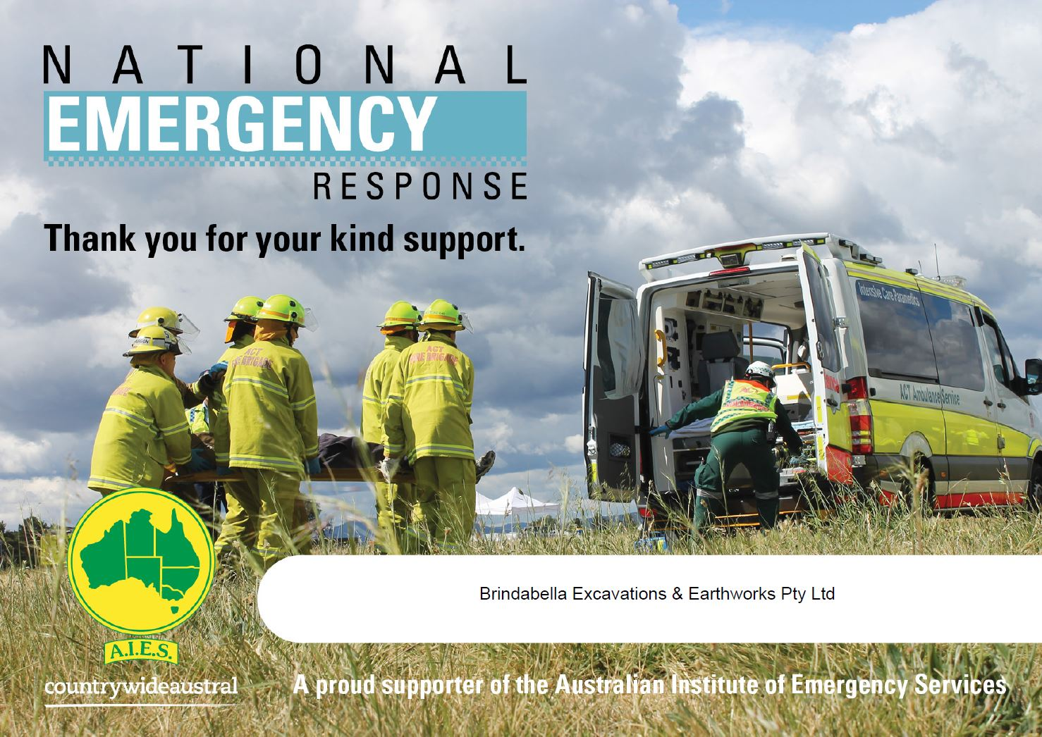 Emergency services support