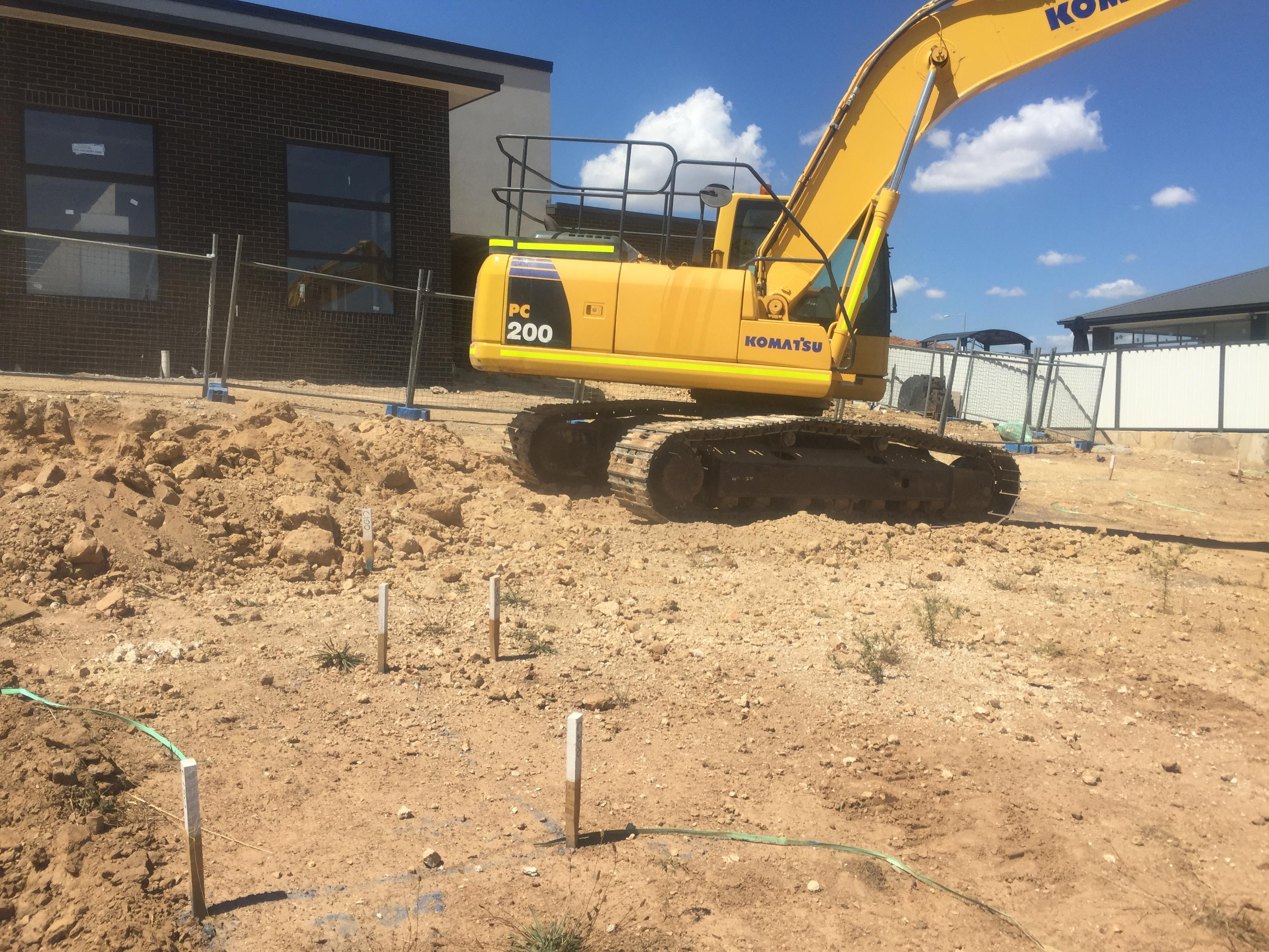 Canberra excavator hire