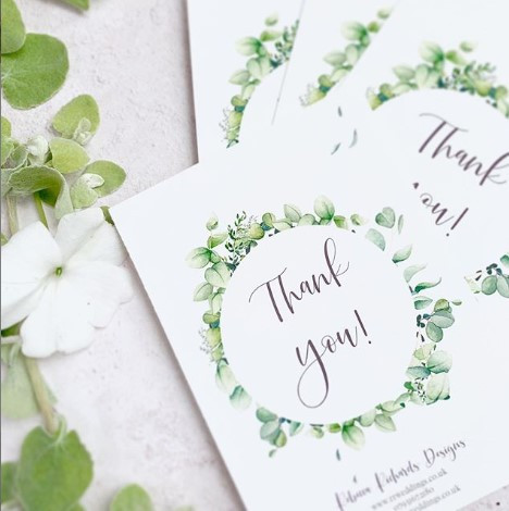 Stationery Wedding Planner Cotswolds