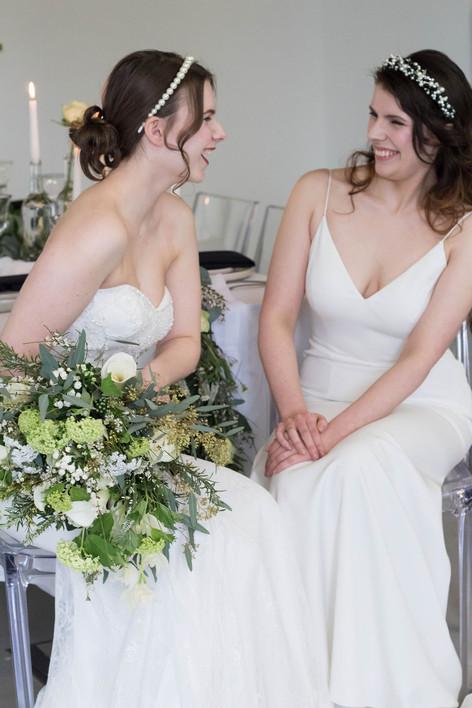 18-Brides-Couple-Laugh-White-Green-Moder
