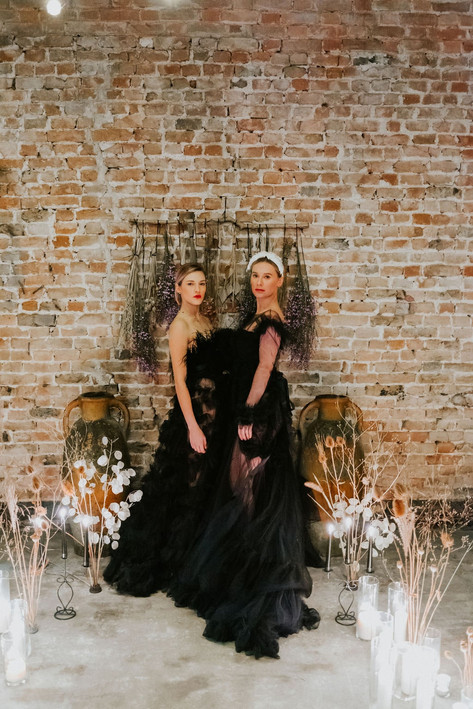55-Brides-Black-Portrait-Boho-Modern-Got