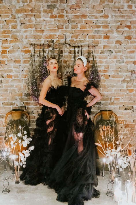 54-Black-Brides-Boho-Modern-Gothic-Weddi