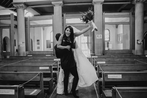 26_L&R_Wedding_Playful_Church_Recession-