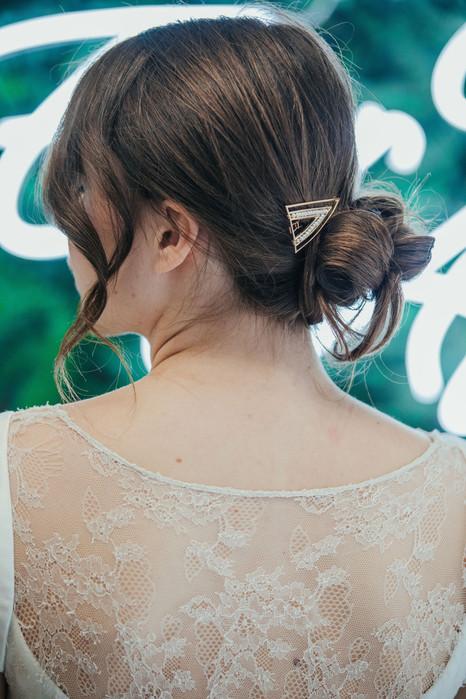 4-Bride-Hair-Pin-Clip-White-Green-Modern