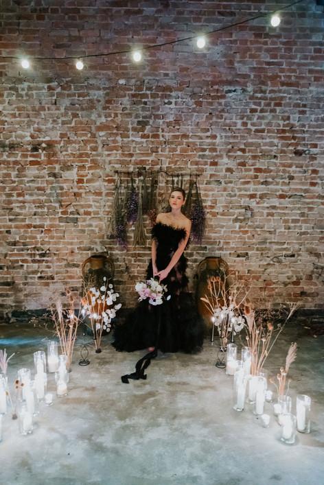 52-Bride-Black-Aisle-Boho-Modern-Gothic-