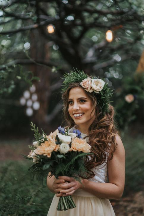 8-Happy-Bride-Rustic-Orchardleigh-Woodla