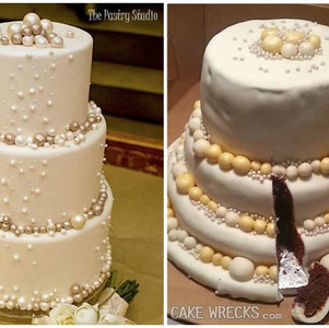 Why you shouldn't make your own wedding cake
