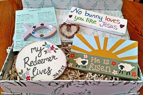 Christian Gift Baskets, Easter Gift Baskets, Christian Easter Gift Basket, Christian Gifts for Easter, Resurrection Sunday