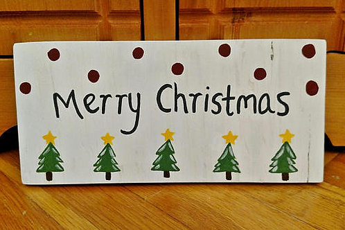 Merry Christmas Wood Sign, Unique Christmas Signs, Handmade Christmas Sign, Christmas Decor