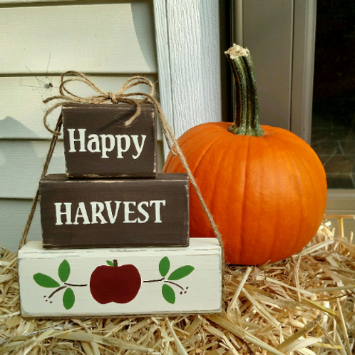 Fall Wood Signs, Happy Harvest Sign, Christian Signs Wood, Thanksgiving Wood Decor, Thanksgiving Signs, Christian Gift